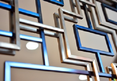 PVD COLOUR COATED PANELS IN STAINLESS STEEL DESIGN SHEETS