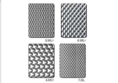 EMBOSSED FINISH DESIGN STAINLESS STEEL SHEETS